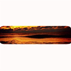 Stunning Sunset On The Beach 2 Large Bar Mats
