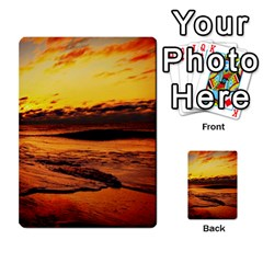Stunning Sunset On The Beach 2 Multi Purpose Cards (rectangle)