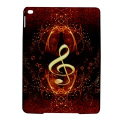Decorative Cllef With Floral Elements iPad Air 2 Hardshell Cases