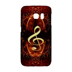 Decorative Cllef With Floral Elements Galaxy S6 Edge