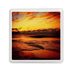 Stunning Sunset On The Beach 2 Memory Card Reader (Square)