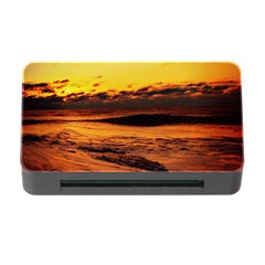 Stunning Sunset On The Beach 2 Memory Card Reader With Cf