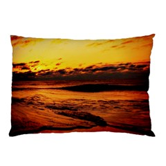 Stunning Sunset On The Beach 2 Pillow Cases (Two Sides)