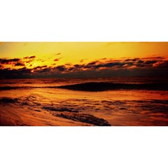 Stunning Sunset On The Beach 2 YOU ARE INVITED 3D Greeting Card (8x4)