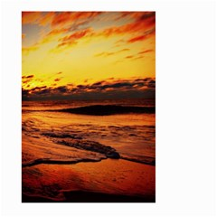 Stunning Sunset On The Beach 2 Large Garden Flag (two Sides)