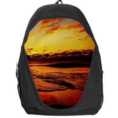 Stunning Sunset On The Beach 2 Backpack Bag