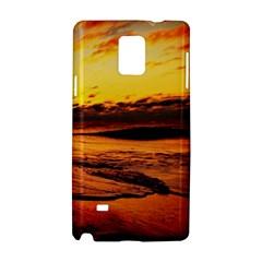 Stunning Sunset On The Beach 2 Samsung Galaxy Note 4 Hardshell Case