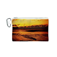 Stunning Sunset On The Beach 2 Canvas Cosmetic Bag (s)