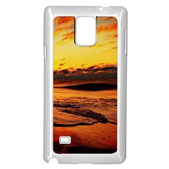 Stunning Sunset On The Beach 2 Samsung Galaxy Note 4 Case (white)