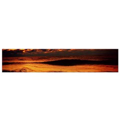 Stunning Sunset On The Beach 2 Flano Scarf (Small)