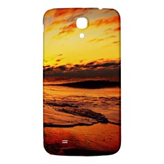 Stunning Sunset On The Beach 2 Samsung Galaxy Mega I9200 Hardshell Back Case