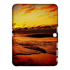 Stunning Sunset On The Beach 2 Samsung Galaxy Tab 4 (10.1 ) Hardshell Case