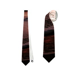 Stunning Sunset On The Beach 3 Neckties (Two Side)