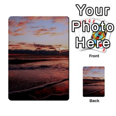 Stunning Sunset On The Beach 3 Multi-purpose Cards (Rectangle)