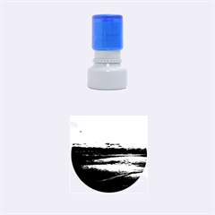 Stunning Sunset On The Beach 3 Rubber Round Stamps (small)