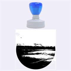 Stunning Sunset On The Beach 3 Rubber Round Stamps (large)