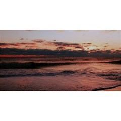 Stunning Sunset On The Beach 3 You Are Invited 3d Greeting Card (8x4)