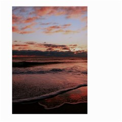 Stunning Sunset On The Beach 3 Large Garden Flag (Two Sides)