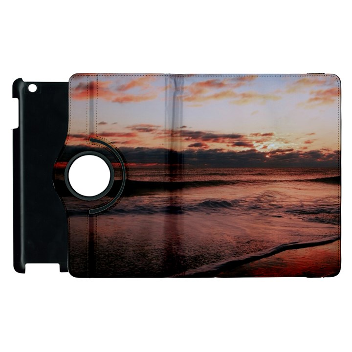 Stunning Sunset On The Beach 3 Apple iPad 3/4 Flip 360 Case
