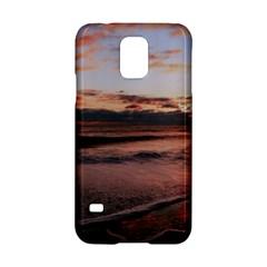 Stunning Sunset On The Beach 3 Samsung Galaxy S5 Hardshell Case