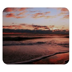 Stunning Sunset On The Beach 3 Double Sided Flano Blanket (Small)