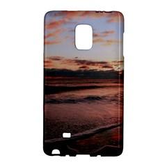 Stunning Sunset On The Beach 3 Galaxy Note Edge