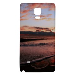 Stunning Sunset On The Beach 3 Galaxy Note 4 Back Case