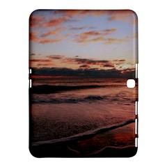 Stunning Sunset On The Beach 3 Samsung Galaxy Tab 4 (10 1 ) Hardshell Case
