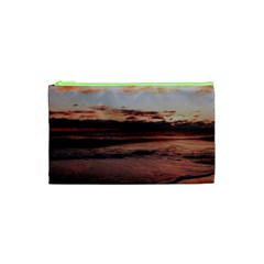 Stunning Sunset On The Beach 3 Cosmetic Bag (XS)