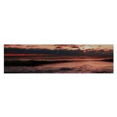Stunning Sunset On The Beach 3 Satin Scarf (Oblong)