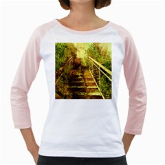 Up Stairs Girly Raglans