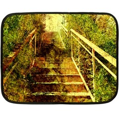 Up Stairs Fleece Blanket (mini)