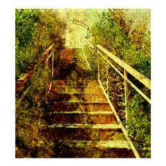 Up Stairs Shower Curtain 66  x 72  (Large)