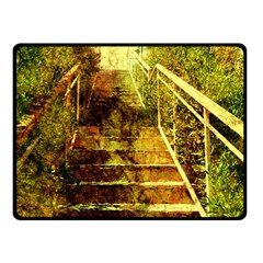 Up Stairs Fleece Blanket (Small)