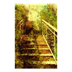Up Stairs Shower Curtain 48  x 72  (Small)