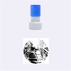 Up Stairs Rubber Round Stamps (Small)