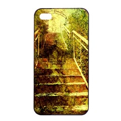 Up Stairs Apple Iphone 4/4s Seamless Case (black)