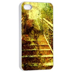 Up Stairs Apple iPhone 4/4s Seamless Case (White)