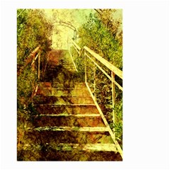 Up Stairs Small Garden Flag (two Sides)