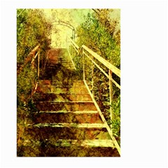Up Stairs Large Garden Flag (two Sides)