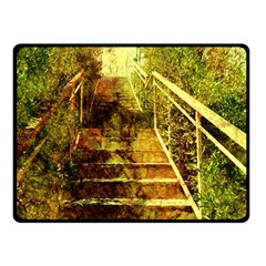 Up Stairs Double Sided Fleece Blanket (Small)