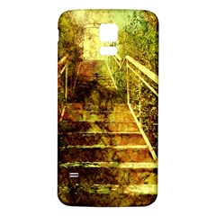 Up Stairs Samsung Galaxy S5 Back Case (white)