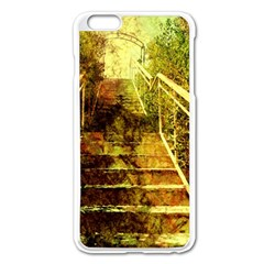 Up Stairs Apple iPhone 6 Plus Enamel White Case