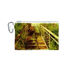 Up Stairs Canvas Cosmetic Bag (s)