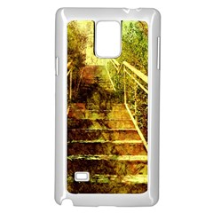 Up Stairs Samsung Galaxy Note 4 Case (White)