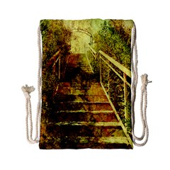 Up Stairs Drawstring Bag (Small)