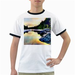 Stunning Nature Evening Ringer T-Shirts