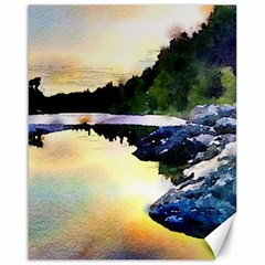 Stunning Nature Evening Canvas 16  x 20