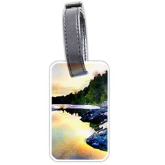Stunning Nature Evening Luggage Tags (one Side)