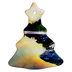 Stunning Nature Evening Ornament (christmas Tree)